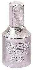 Draper 8mm Cuadrado 3/8 Entrada Cuadrada Tapón De Drenaje Llave 38324
