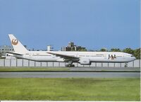 JAL JAPAN AIR LINES - BOEING B777-346 - JA8944 - OSAKA - 06/1999 - POSTCARD