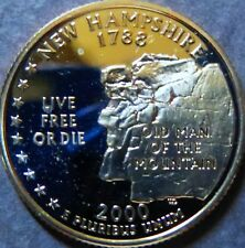 "NEW HAMPSHIRE > 2000-s STATE QUARTER DOLLAR ""PROOF"" 2000-s San Francisco Mint"