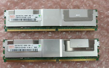 Original Dell 8Gb (2 x 4Gb) Memory Kit RAM for  Poweredge 1950 2950 6950 +others