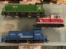 Lot of 10 HO Scale Locomotives (Athearn and other brands)
