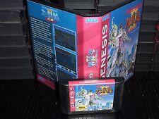 Double Dragon The Revenge for Sega Genesis! Cart and Box!