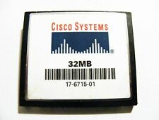 32MB Compact Flash Card ( 32 MB CF Karte ) CISCO SYSTEMS gebraucht