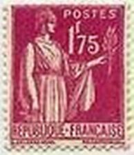"FRANCE STAMP TIMBRE N° 289 "" TYPE PAIX 1 F 75 ROSE LILAS "" NEUF xx TTB"