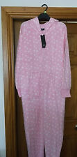 SUPERSOFT  **OWL ALL IN ONE ** size 20/22 polka dot pink...brand new NIGHTWEAR