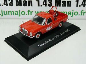 SER25 1/43 SALVAT Vehiculos Inolv. Servicios: Mercedes-Benz 220D - Tecin (1972)