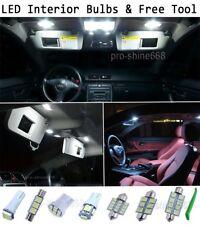 New Interior Car LED Bulbs Light KIT Package Xenon White 6000K For SKODA FABIA