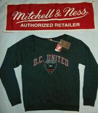 MLS SOCCER DC UNITED FC Adidas Sweatshirt Mitchell & Ness $58 Womens Large L NEW