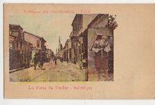 Salonique, La Porte du Vardar On Active Service Robinson, Bootle Postcard, B421
