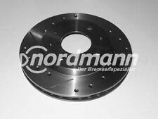 INTERCAR Disco freno forati e fessurati per Ford 239,5 mm