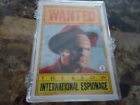 TOPPS WALT DISNEY CARD SET DICK TRACY MINT