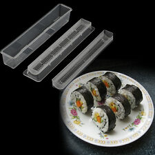 Sushi Roll Rice Maker Mould Roller Mold DIY Non-stick Easy Chef Kitchen DE
