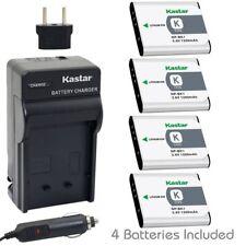 NP-BK1 Battery & Regular Charger for Sony Bloggie MHS-CM5 PM5, Webbie MHS-PM1