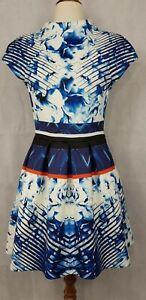 Nicholas Blue Sleeveless Dress with Pockets, Size AU 10, US 6.