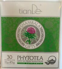 TianDe hépatique phytotea avec Sainte Chardon 30 sacs