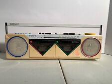 Vintage Sony CFS-W50 Cassette/Radio Boombox Player