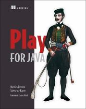 Play for Java: Covers Play 2 by Nicolas LeRoux Paperback Book (English)