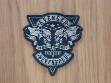 AVENGED SEVENFOLD - ORANGE COUNTY(SHAPED)(NEW)SEW ON PATCH OFFICIAL BAND MERCH