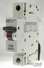 Dorman Smith Loadlimiter - BS50C - 50a Type C Single Pole MCB Un-used