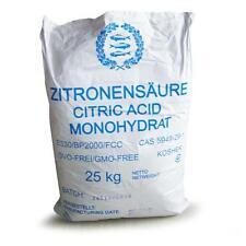 Zitronensäure E 330 25 kg Großgebinde Lebensmittelqualität Entkalker Granulat