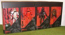 Star Wars Black Series 6 Pulgadas Imperial fuerzas 4-Pack