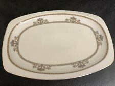 "Vintage Epiag Czechoslovakia China Serving Platter 14"" X 10"" - Perfect Condition"
