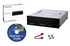 Pioneer BDR-2212 Internal 16x Blu-ray Writer + Cyberlink S/W, SATA Cable+Screw
