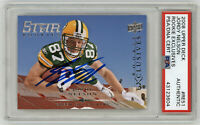 2008 PACKERS Jordy Nelson signed ROOKIE card UD Exclusives RC #RE51 PSA/DNA AUTO