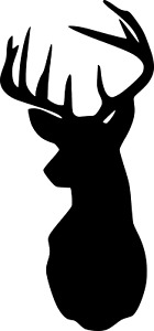 Vinyl Decal - Deer Silhouette - Yeti, Tumbler, water bottle and many more