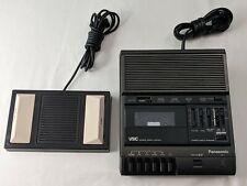 Panasonic Rr-830 Standard Cassette Transcriber Recorder Vsc Foot Control Rp-2692