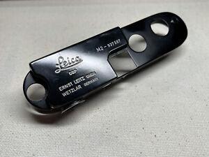 Leica M2 Black paint Top Plate Part. Factory Black Paint