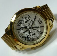 Michael Kors Quartz Watch Ladies Wrist MK5916 Chronograph Stainless Steel