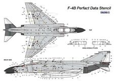 MONOKIO 1/48 F-4B Phantom II NAVY Perfact Data Stencil