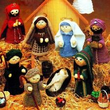 toy/ christmas nativity  knitting pattern 99p