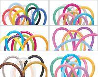 100 Pack Of Qualatex Modelling Balloons - Assorted Colours - 160Q / 260Q / 360Q