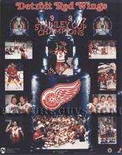 Detroit Red Wings 1997 Stanley Cup Championship Hockey Picture Plaque