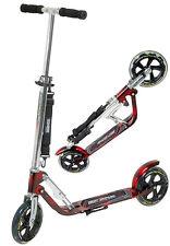 Hudora Big Wheel MC 205 Scooter Roller rot/schwarz extra große Räder 14720