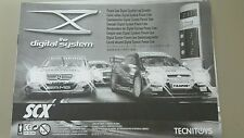 Scx digital lap counter system instruction manual with stickers