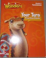 McGraw Hill Reading Wonders Gr 3 Your Turn Practice Bk -Tenn Ed   9780021254026