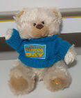 CANCER DAFFODIL DAY TEDDY BEAR PLUSH TOY! SOFT TOY ABOUT 15CM SEATED KIDS TOY!