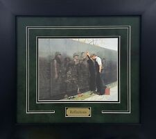 Reflections Lee Teter Military Vietnam Memorial Wall Print Framed