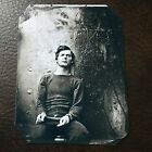 LEWIS POWELL 1 OF 4 PEOPLE HANGED FOR THE LINCOLN ASSASSINATION TinType C754NP