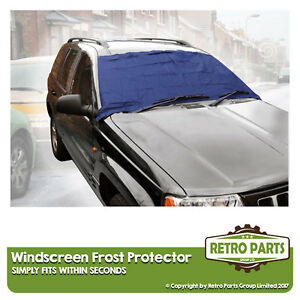 Windscreen Frost Protector for Fiat 500. Window Screen Snow Ice