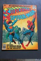 SUPERMAN and SPIDER-MAN 1981 Marvel Treasury Edition #28