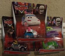 DISNEY PIXAR CARS TUNERS SUKI KABUTO & WINGO 2014 *NEW*