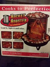 Unused ORIGINAL USA MADE Rocket Roaster By Comalco Smoker Steamr Turkey Roaster