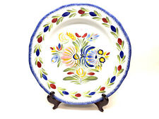 New QUIMPER by HB HENRIOT Fleuri Royal Wall Plate