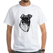 CafePress Miniature Schnauzer Men's Classic T Shirts Mens T-Shirt (213587507)