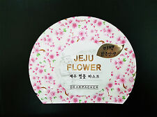 DEARPACKER Jeju Cherry Blossom Korean Facial Mask Pack Wrinkle Care Brightening
