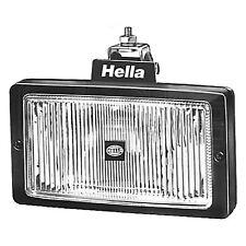 FOG LIGHT HELLA Jumbo 220 lente trasparente Corpo Nero 12v/24v 1NE 006 300-051